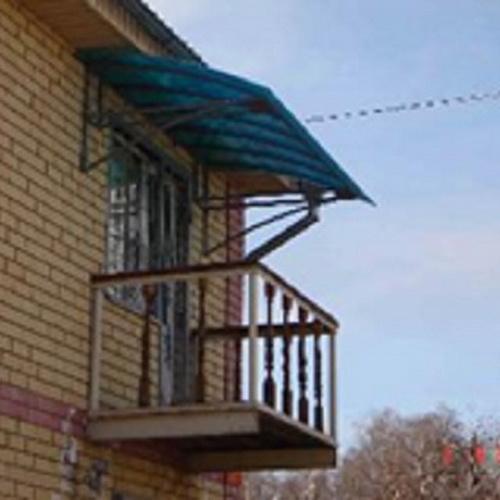 Козырёк (навес) над балконом цена 7 000 руб., купить в нижне.