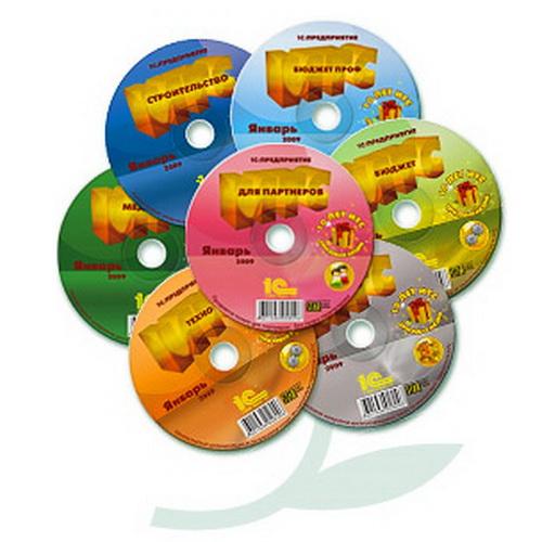 Информационно-технологическое сопровождение 1С (диски ИТС). Те