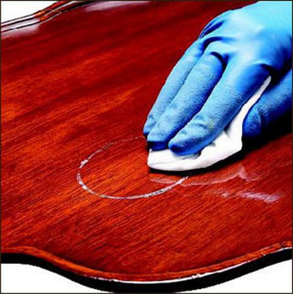 Восстановление лакового покрытия своими руками